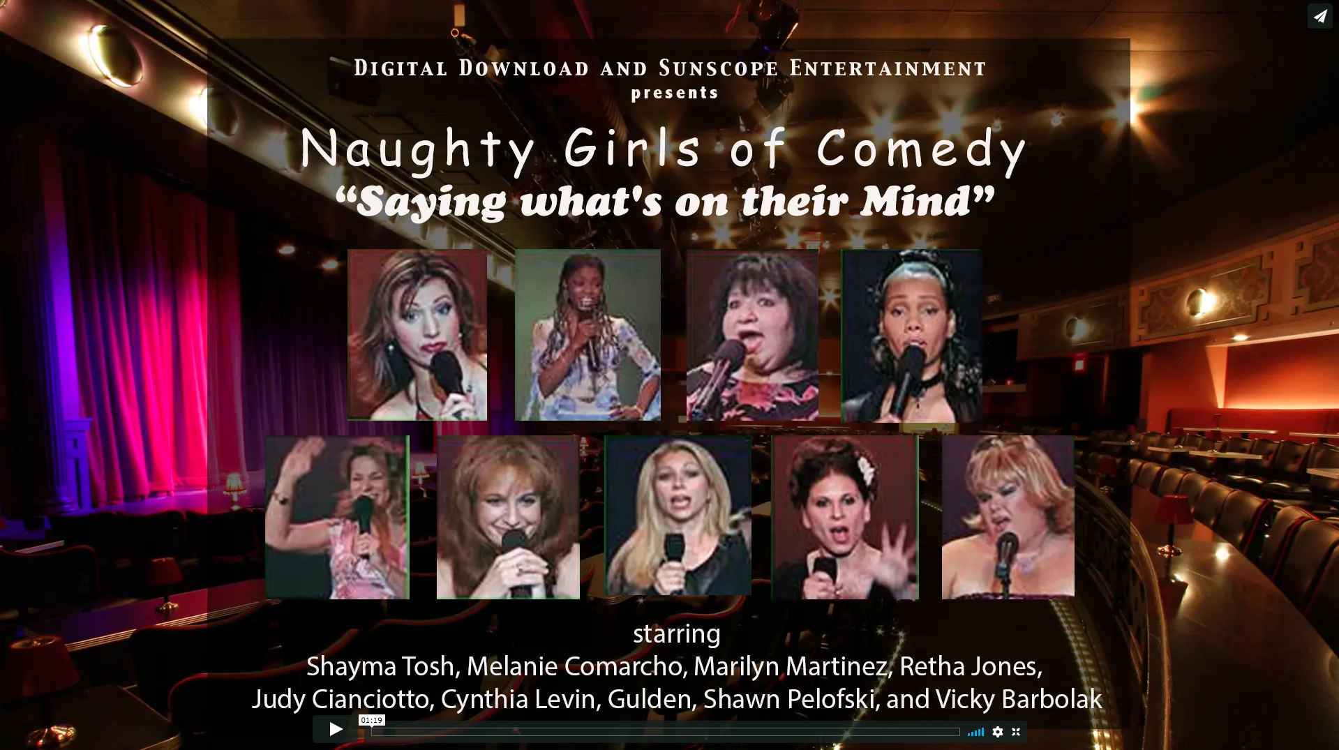 Naughty Girls of Comedy